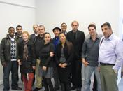 At Israeli-Palestinian Delegation
