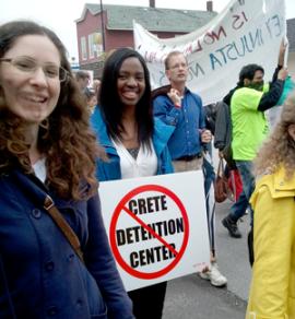 Opposing the Crete Illinois Detention Center