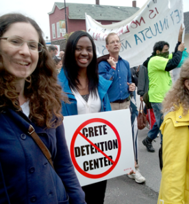 Opposing the Crete Illinois Detention Center