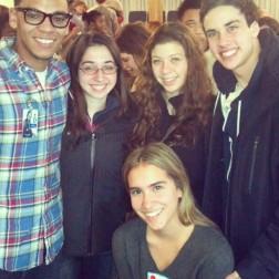 Roy, Stacy, Hana, Joel, Sam at Bright Star