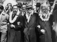 Dr. King and Rabbi Heschel, Selma, 1965