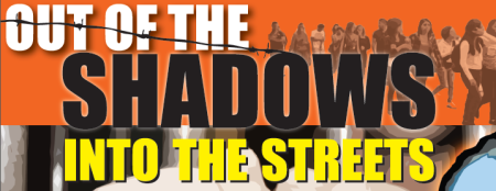 out of the shadows banner
