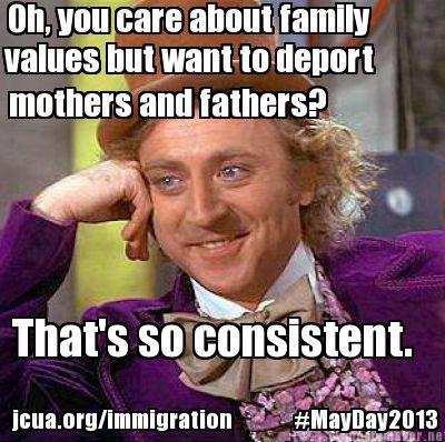 immigration meme immigrant rights jcua news,Anti Immigration Memes