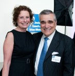 JCUA honoree Sylvia Neil with Dr. Steven Nasatir, President of the Jewish Federation of Metropolitan Chicago