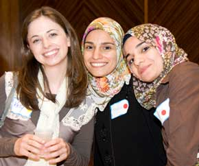 """Past """"Iftar in the Synagogue"""" participants"""