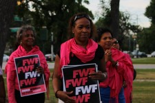 Fierce Women of Faith at peace vigil