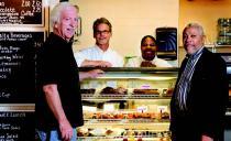 Gracies Cafe from Chicago Gazette article Robert Dougherty Mike Ellert LaTonya Carter and Walter Boyd
