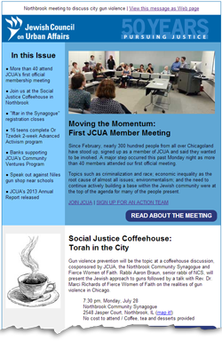 JCUA's latest news is now online here: