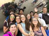 Or Tzedek takes a(nother) selfie at the Bean!