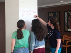 Gabi, Roz, and Leora share some of their goals for Or Tzedek!