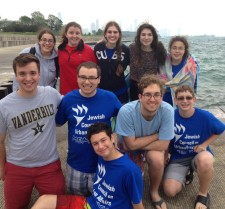 Our teens were all smiles at the beach on Friday afternoon!