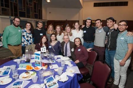 Group at Seder