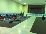 We visited ACT Yoga in North Austin and worked on mindfulness with Marshawn Feltus