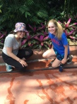 Sarah and Sydney explore the Garfield Park Conservatory!